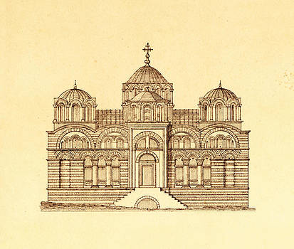 Pictus Orbis Collection - Pammakaristos Byzantine Church in Constantinople