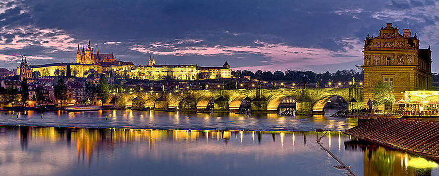 Panorama Prague by Travel Images Worldwide