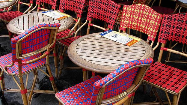 TONY GRIDER - Paris Cafe