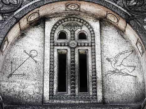 TONY GRIDER - Paris Cemetery Etching