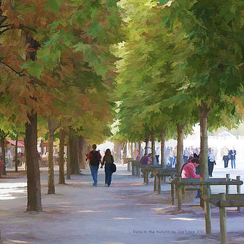 Paris in the Autumn by Jan Lowe
