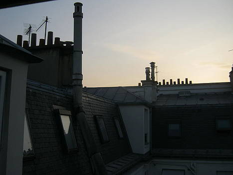 Paris Rooftops by James McGuine