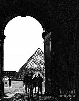 Chuck Kuhn - Passage to The Louvre
