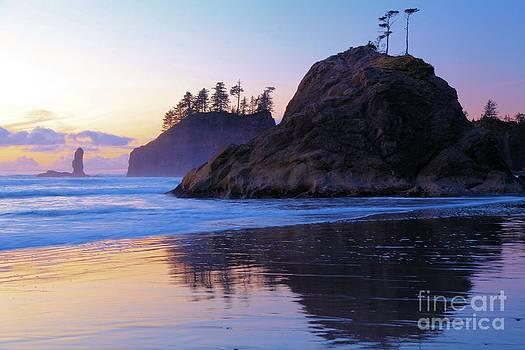 Adam Jewell - Pastel Sea Stacks
