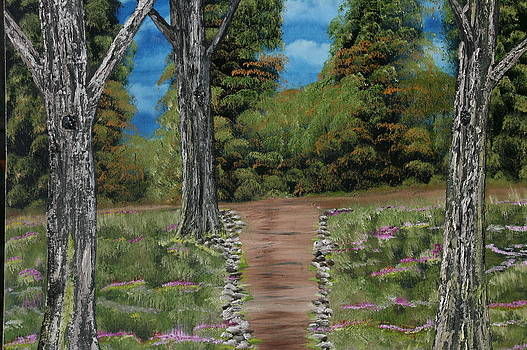 Path to Contentment by Donna Jeanne  Carver