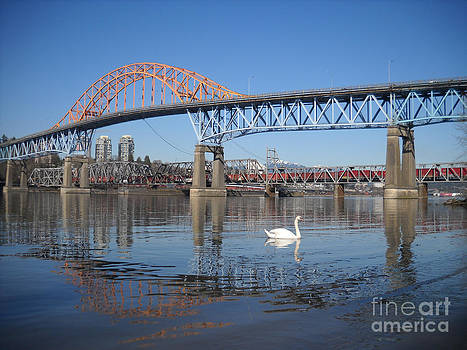 Pattullo Bridge by Chris Murphy Elliott