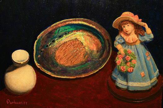 Terry Perham - Paua And Figurine