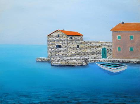 Peaceful Adriatic 2 by Larry Cirigliano