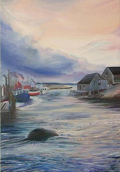 Peaceful Cove by Karen Hurst
