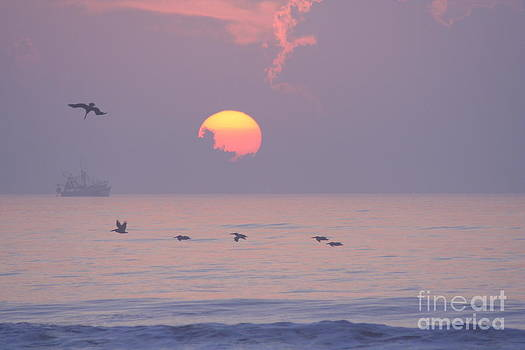 Peaceful Sunrise by Clint Day