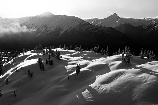 Peaks and Shadows by Brandon Broderick