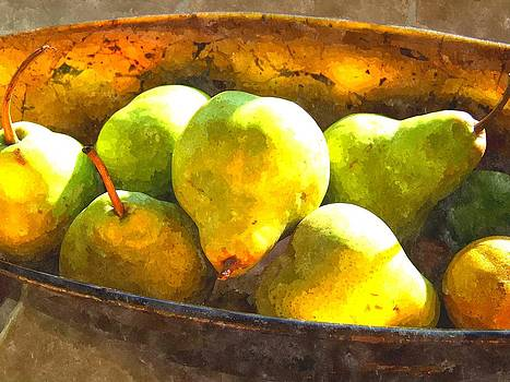 Pears in Sunlight by Derrick Armitage