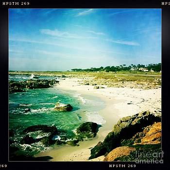 Pebble beach by Nina Prommer