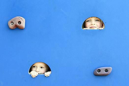 Peek-a-boo by Carol McLagan