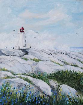 Peggy's Cove N.S. by Anne Marie Spears