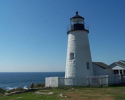 Pemaquid Point Lighthouse by Gordon H Rohrbaugh Jr