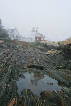 Pemaquid Reflection by Mary Hershberger