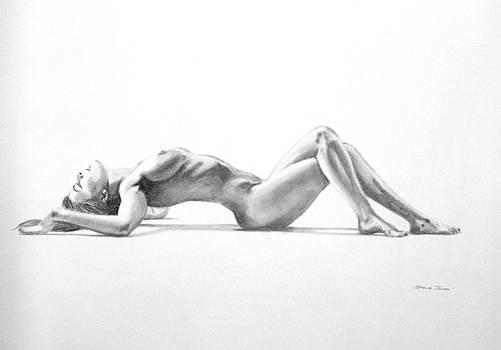 Pencil Nude 20 by Steve Jones