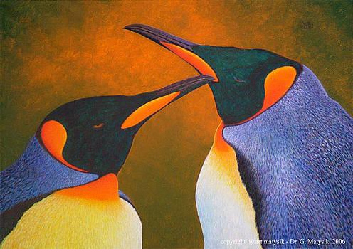Penguins by Gerd Doc Matysik