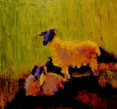 Pet Goats  by Marie Hamby