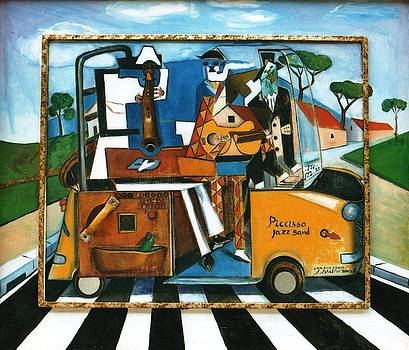 Picasso's Jazz Band by Sandro Sabatini