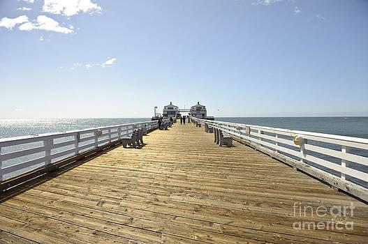 Pier in Malibu by Darwin Lopez