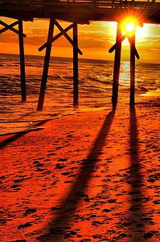 Emily Stauring - Pier In Orange