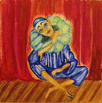 Pierrot by Jeanne Mytareva