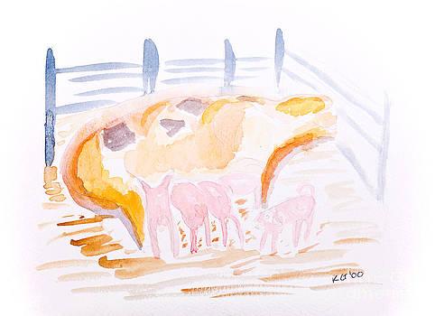 Simon Bratt Photography LRPS - Pig with Piglets
