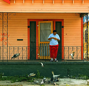 Kathleen K Parker - Pigeon Lady of New Orleans
