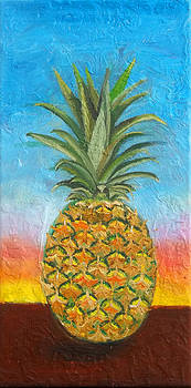 Anne Cameron Cutri - Pineapple Sunrise 2 or Pinapple Sunset 2