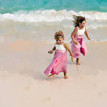 Pink Beach by Lori Goodwin