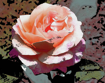 Gilbert Artiaga - Pink Rose Art