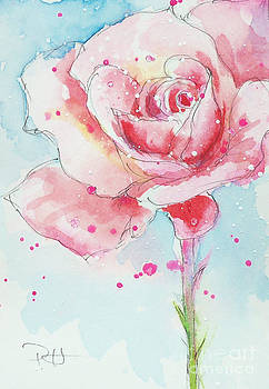 Pink Rose by Patricia Henderson