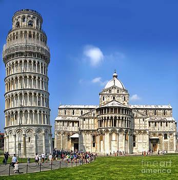 Gregory Dyer - Pisa Italy - Piazza dei Miracoli - 01