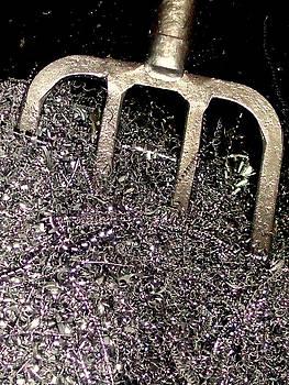MB Matthews - Pitchfork in Scrap Metal