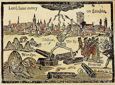 Science Source - Plague In London 1625