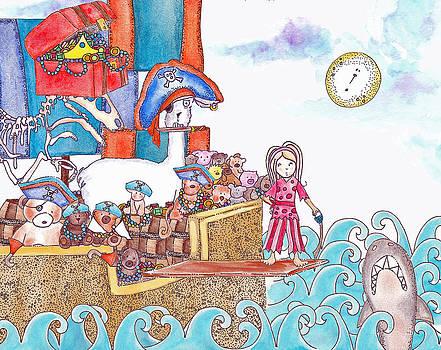 Playing Pirates by Jenny Valdez