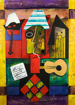 Playing With Picasso by Barbara Barry-Nishanian