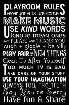 Jaime Friedman - Playroom Rules