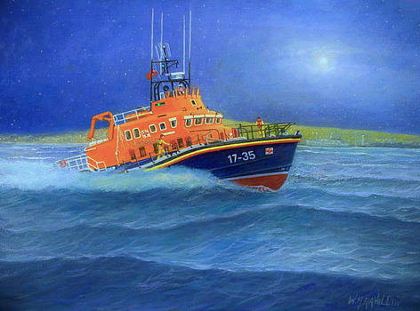 Plymouth Lifeboat - Version 2 by William H RaVell III