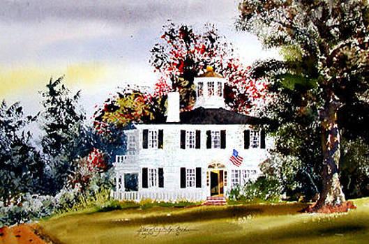 Pollard House II Harvard MA by Harding Bush