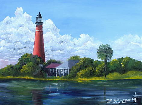 Ponce Inlet Lighthouse by Larry Whitler