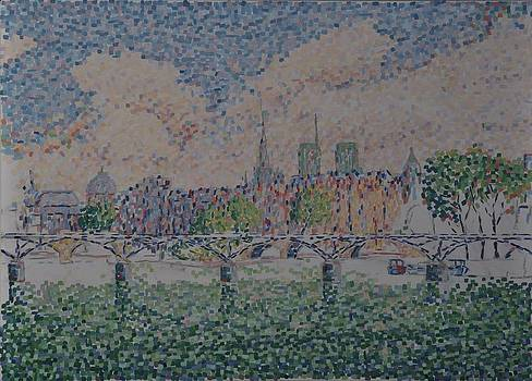 Pont des Arts by Jan Willem Versteeg