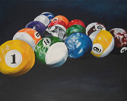 Pool Balls by Travis Day