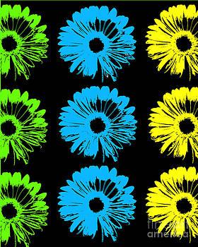 Ricki Mountain - Pop Art Floral I
