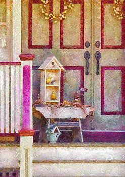 Mike Savad - Porch - Cranford NJ - The birdhouse collector