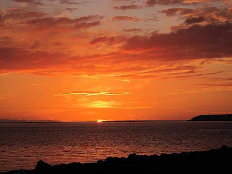 Port Henderson Sunset I by Jennifer Watson