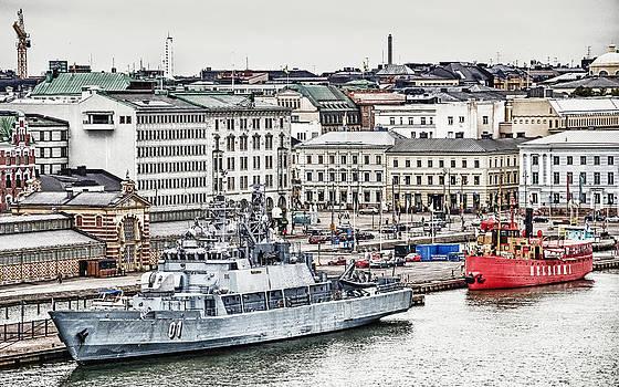 Port Of Helsinki by Matti Ollikainen