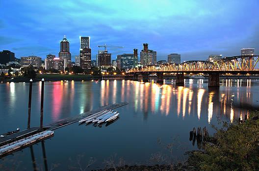 Portland Morning by Brian Bonham